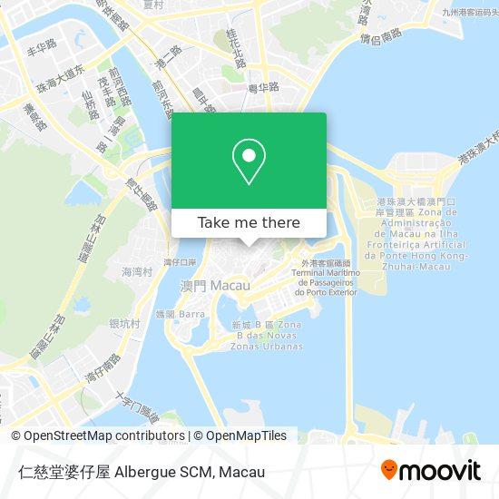 仁慈堂婆仔屋 Albergue SCM map