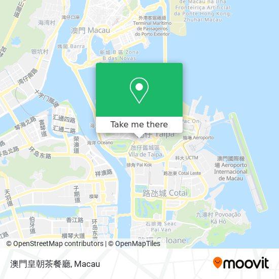 澳門皇朝茶餐廳 map