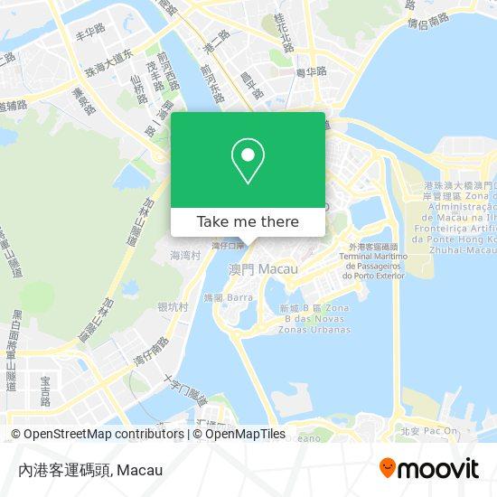 內港客運碼頭 map