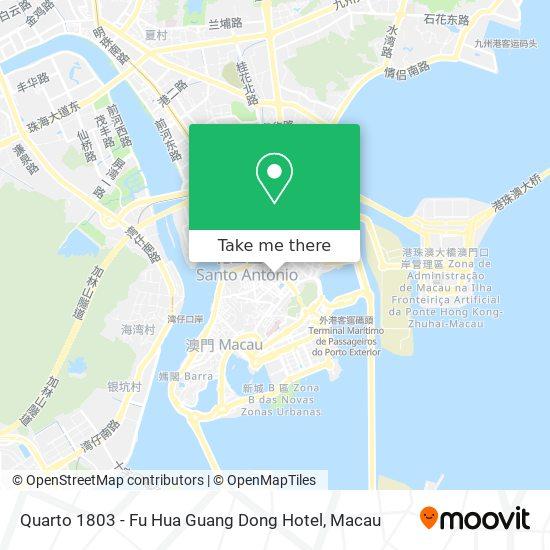 Quarto 1803 - Fu Hua Guang Dong Hotel map
