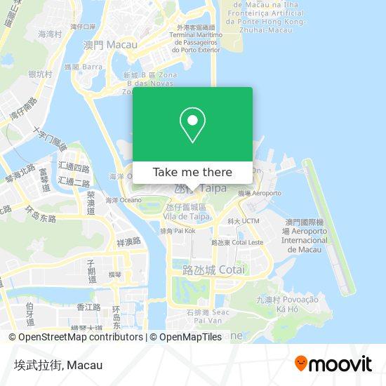 埃武拉街 map
