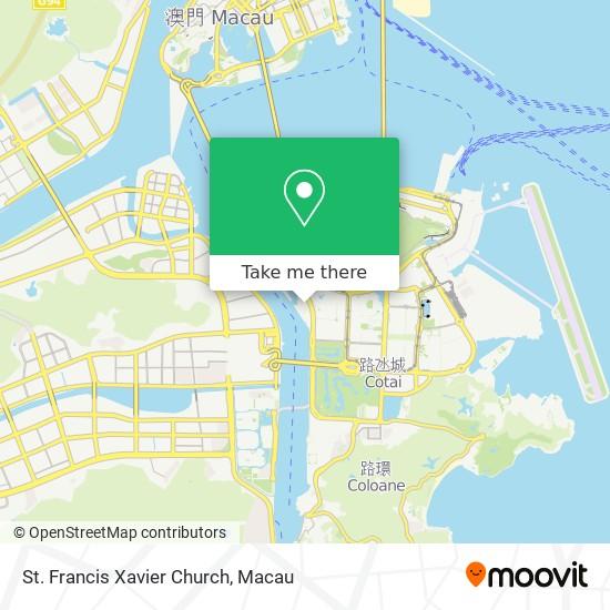 St. Francis Xavier Church map