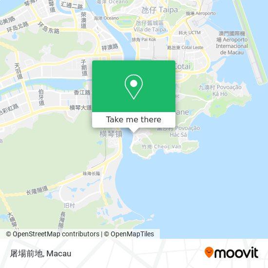 屠場前地 map