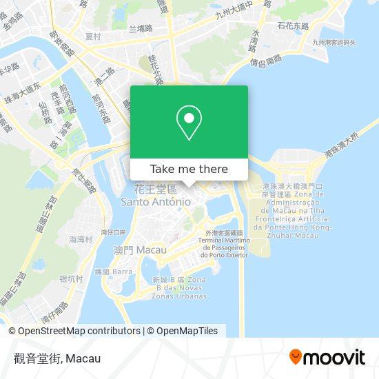 觀音堂街 map