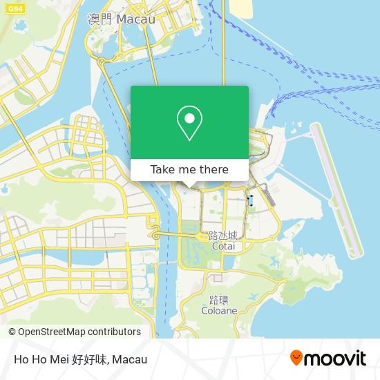 Ho Ho Mei 好好味 map