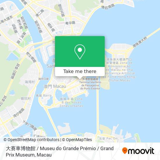 大賽車博物館 / Museu do Grande Prémio / Grand Prix Museum map