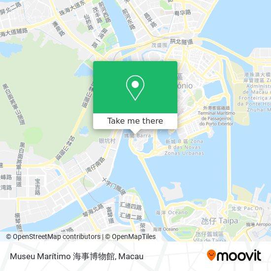 Museu Marítimo 海事博物館 map