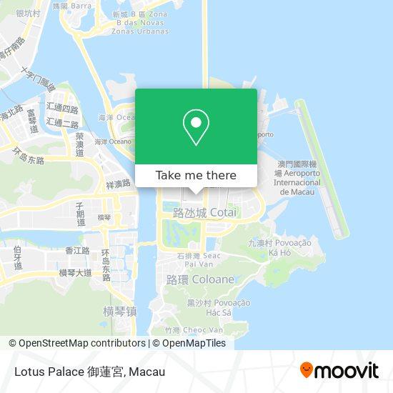 Lotus Palace 御蓮宮 map