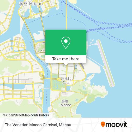 The Venetian Macao Carnival map
