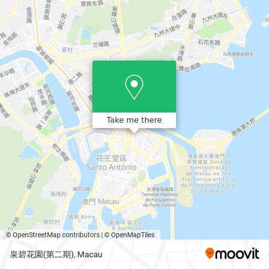 泉碧花園(第二期) map