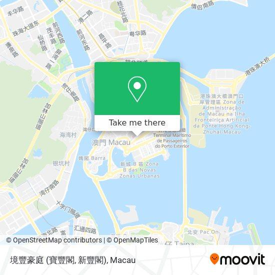 境豐豪庭 (寶豐閣, 新豐閣) map