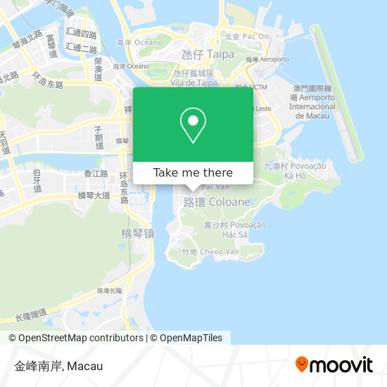 金峰南岸 map