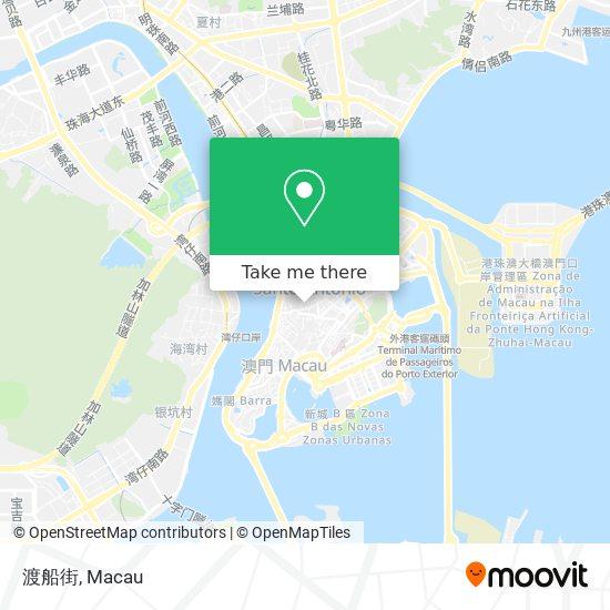渡船街 map