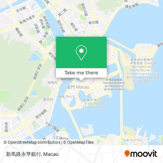 新馬路永亨銀行 map