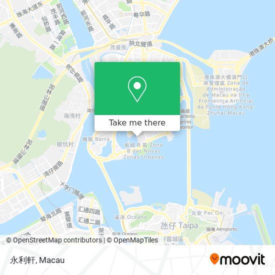 永利軒 map