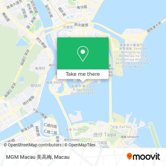 MGM Macau 美高梅 map