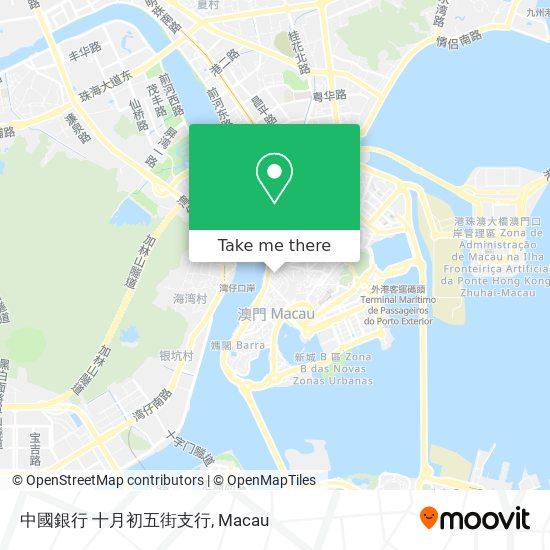 中國銀行 十月初五街支行 map