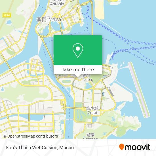 Soo's Thai n Viet Cuisine map