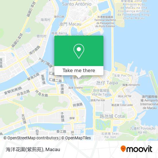 海洋花園(紫荊苑) map