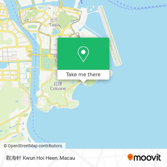 觀海軒 Kwun Hoi Heen map
