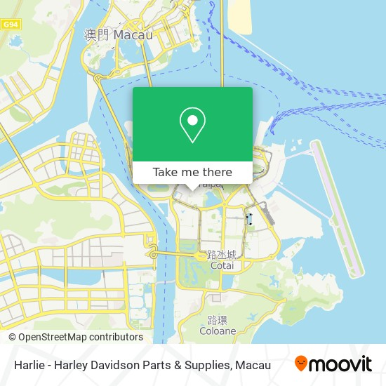 Harlie - Harley Davidson Parts & Supplies map