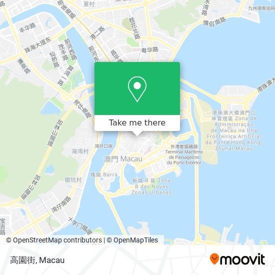 高園街 map