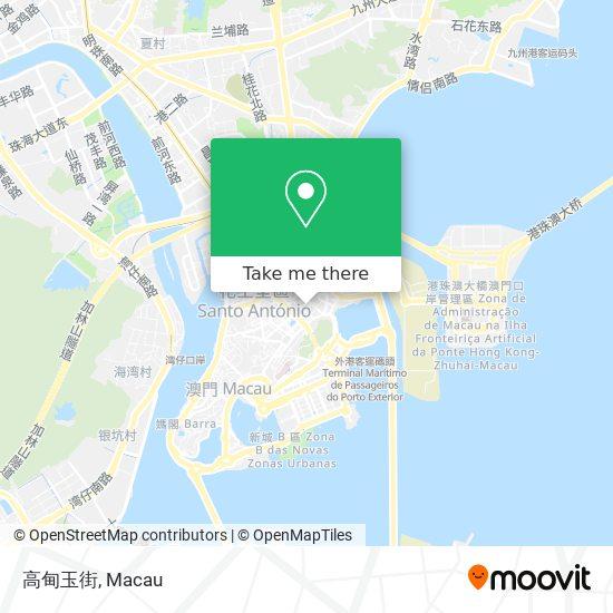 高甸玉街 map