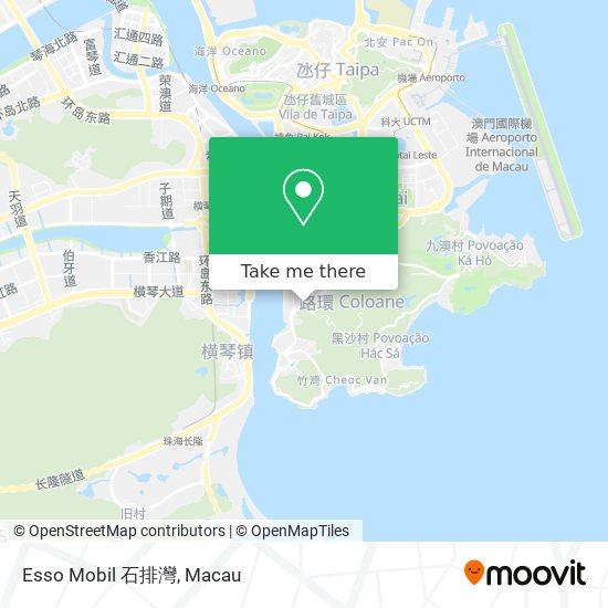 Esso Mobil 石排灣 map