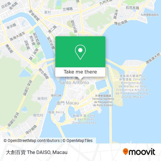 大創百貨 The DAISO map