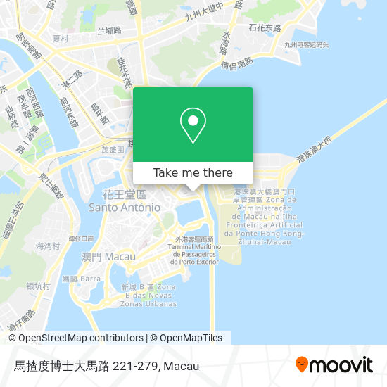 馬揸度博士大馬路 221-279 map