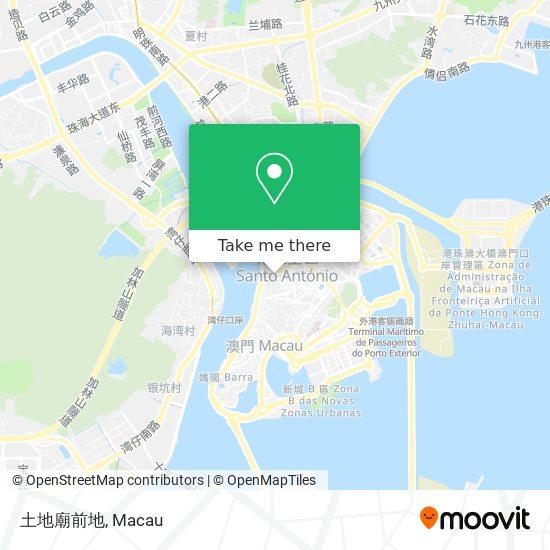 土地廟前地 map