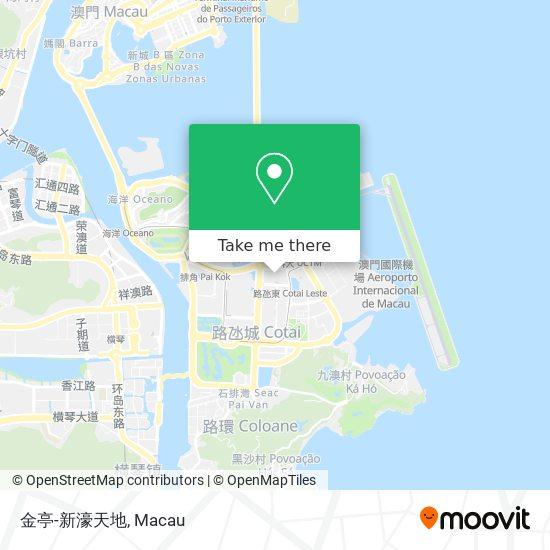 金亭-新濠天地 map