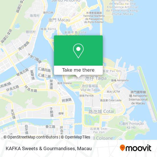 KAFKA Sweets & Gourmandises map