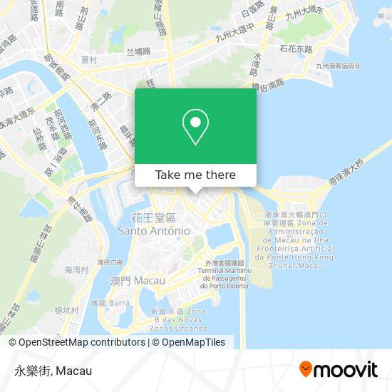 永樂街 map