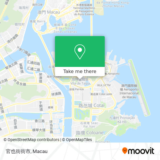 官也街街市 map