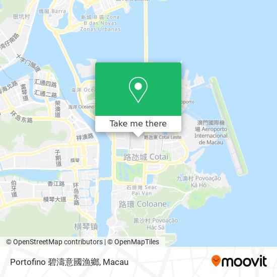 Portofino 碧濤意國漁鄉 map