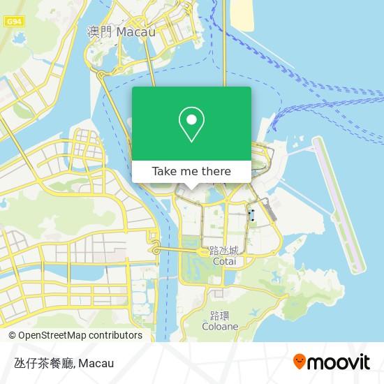 氹仔茶餐廳 map