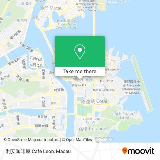 利安咖啡屋 Cafe Leon map