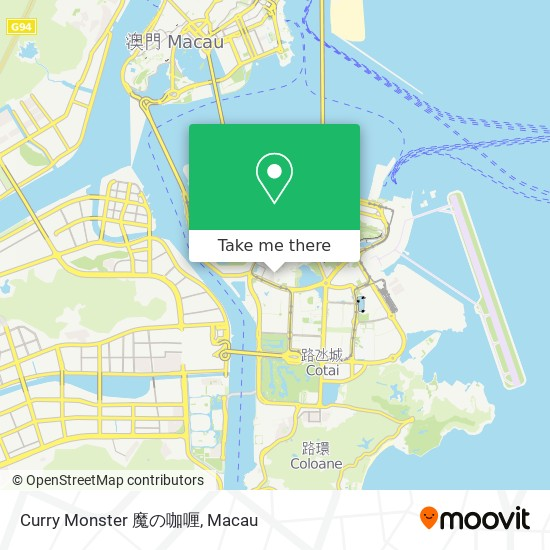 Curry Monster 魔の咖喱 map