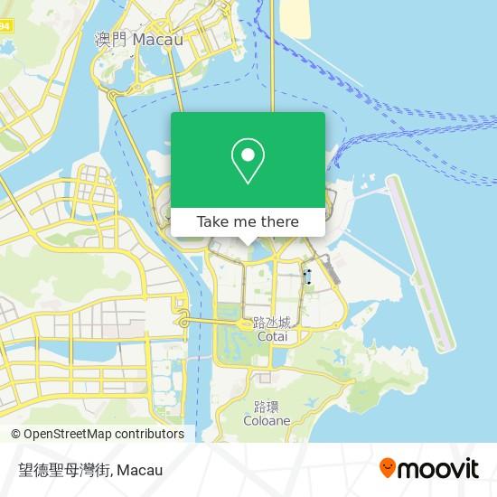 望德聖母灣街 map