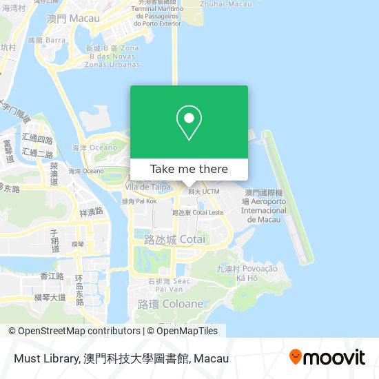 Must Library, 澳門科技大學圖書館 map