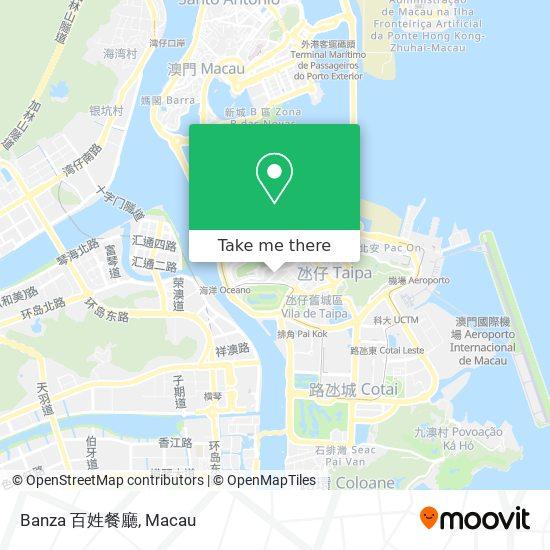 Banza 百姓餐廳 map