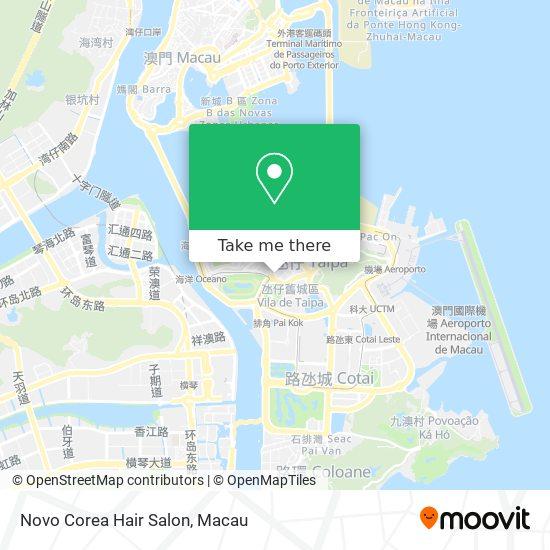Novo Corea Hair Salon map