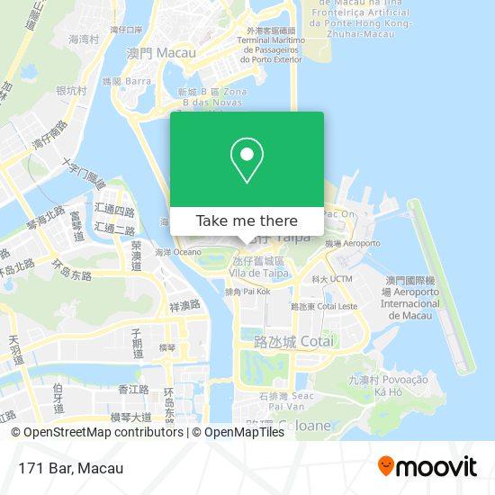 171 Bar map
