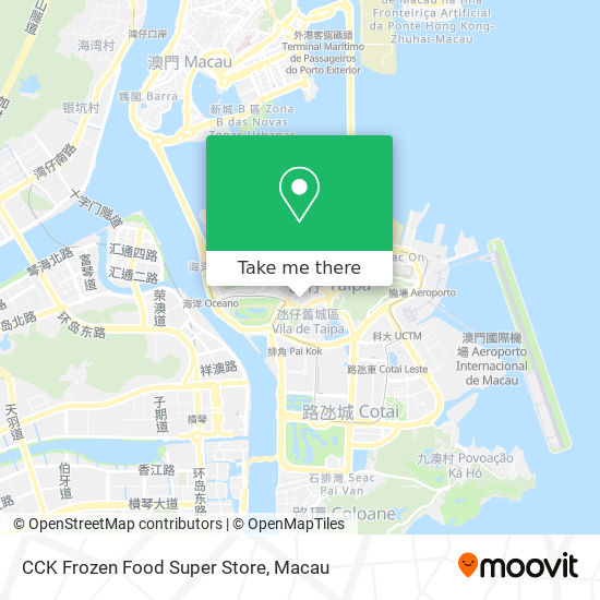 CCK Frozen Food Super Store map