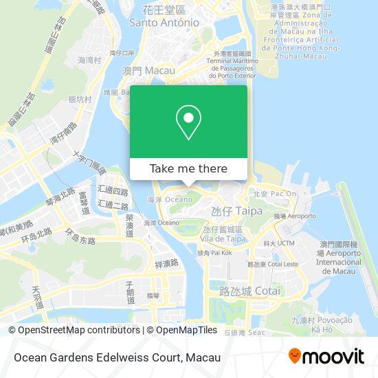 Ocean Gardens Edelweiss Court map