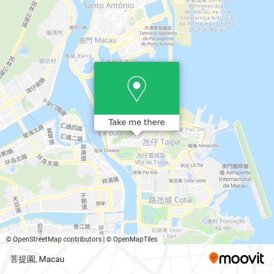 菩提園 map