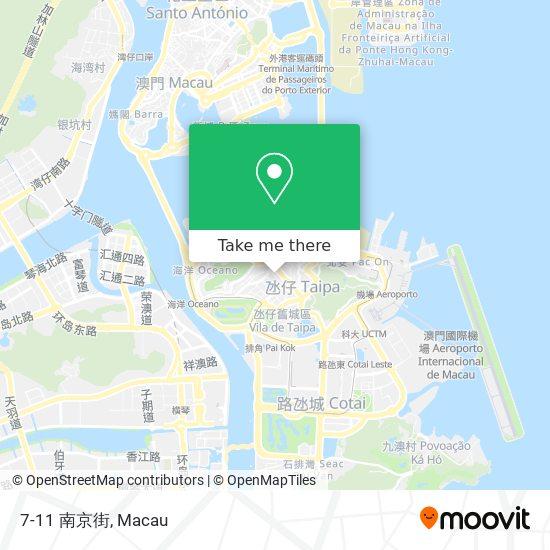7-11 南京街 map