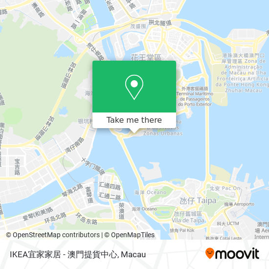 IKEA宜家家居 - 澳門提貨中心 map