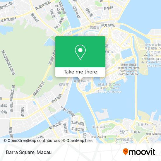 Barra Square map